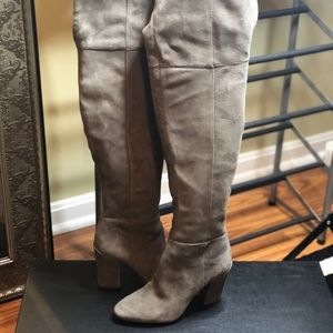 Shoes - Louise et Cie Grey Knee High Boots